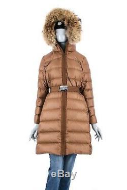 1950$ Moncler Nantes Fur Real Long Womens Down Jacket Puffer Coat Certilogo 3/ml