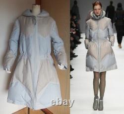 2012 Runway Issey Miyake Lady's A-line Down Long Coat Puffer Blouson (3) 93%down
