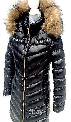 £349 HOLLAND COOPER Molina Long Puffer Coat / Jacket SMALL CURRENT SEASON