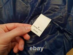 66 Degrees North Laugavegur Long Blue Down Puffer Jacket Coat Size M