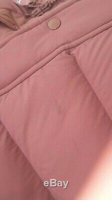 ARITZIA TNA The Super Puff Long Pinky Rose Goose Down Puffer Jacket in Size XXS