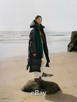 ARKET AW19/20 Upcycled Long Down Puffer Coat EU 40 UK 14 BNWT