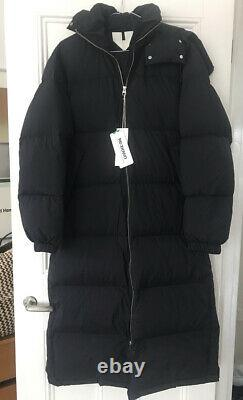 ARKET Long down Puffer Coat size 36/UK Small or 10 BNWT