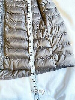 Arc'teryx Yola Womens Lightweight Goose Down Long Puffer Coat Jacket Grey Size S