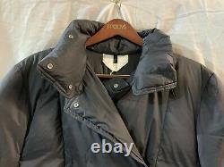 Arket XS Oversized Long Puffa Down Black Coat