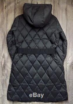 Armani Exchange Long Down Quilted Womens Jacket Bnwt Genuine Coat Ladies 12