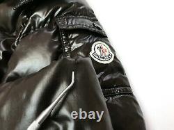 Auth MONCLER MOKA Brown Long Down Puffer Jacket Coat 3 M/L RRP 2970$