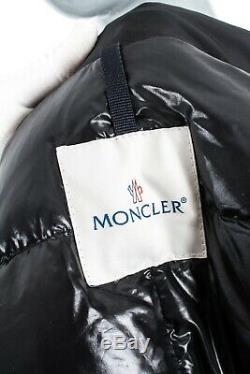 Auth Moncler Poitiers Rare Womens Long Jacket Puffer Coat Belted Ski Size 3/ml