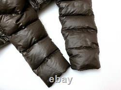 Auth Vintage MONCLER MOKA Brown Long Down Puffer Jacket Coat 3 M/L