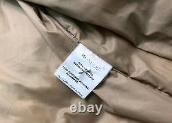 Auth Vintage Women's MONCLER Beige Down Puffer Quilted Coat Jacket Size 3 M/L