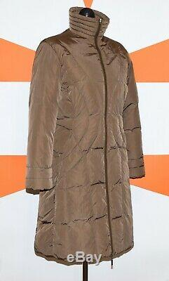 Auth Women's Moncler Down Coat Long Jacket Puffer Size 2 (tall S) P2p 18.5 Euc