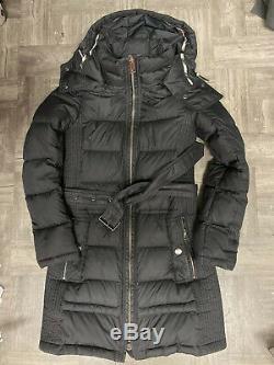 Authentic Burberry Brit Puffer Long Coat XS