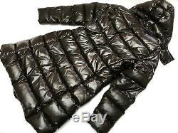 Authentic MONCLER MOKA Brown Long Down Puffer Jacket Coat 3 M/L RRP 2970$