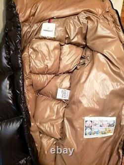 Authentic Moncler Women's Parnaiba Down Coat Puffer Long Black Size 3 $2115 READ