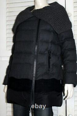 Authentic Moncler X Loro Piana OCELOT Down Padded Coat with CERTILOGO CODE