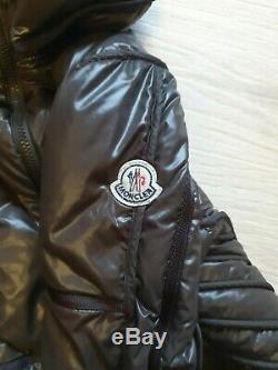 Authentic Vintage Moncler down long jacket puffer coat Quilted Women Sz 1