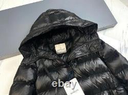BNWT Auth Moncler Ladies Long Suyen Down Coat Jacket size 1 (Moncler Size 1)