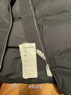 BNWT NEW ARKET BLACK Long Down Puffer Coat Size SMALL Water Repellent