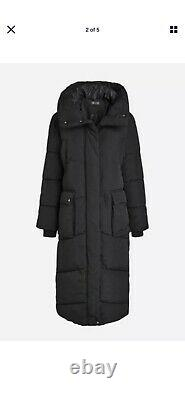 BNWT Next Emma Willis Long Puffer Jacket Coat Black Size 14 Regular SOLD OUT
