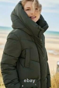 BNWT Next Emma Willis Padded Khaki Puffer Coat Size 14 Regular SOLD OUT