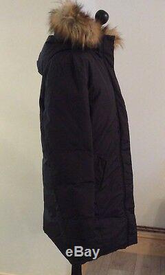 BOMBOOGIE Parka Women Woman's long parka Coat XL Black