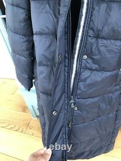 Barbour Cassins Black coat size 10 Jacket Brand new Tagged Puffer Padded