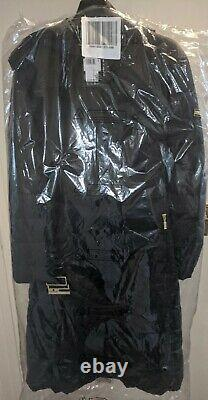 Barbour International LINEOUT Long Quilted Coat (BLACK)(SIZE 14) BNWT RRP £239