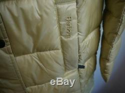 Barbour Women's Clyde Long Quilted Puffer Coat, NWT, Dark Pearl, Size 8US