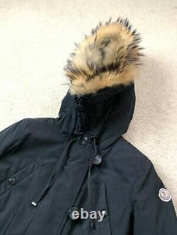 Bargain 2650$ Women's MONCLER ARRIOUS Down Parka Jacket Coat Puffer Fur 2 S M