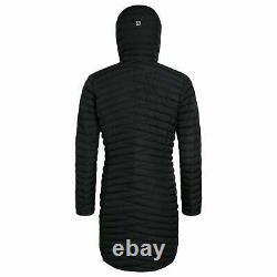 Berghaus Womens Nula Micro Long Insulated Jacket Black