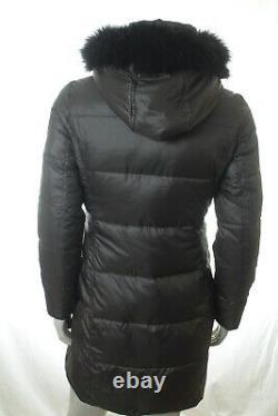 Bnwt Ralph Lauren Women Grey Quilted Long Down Coat Jacket Size XL Rrp £355