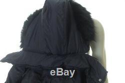 Bnwt Ralph Lauren Women Navy Quilted Long Down Coat Jacket Size XL Rrp £355