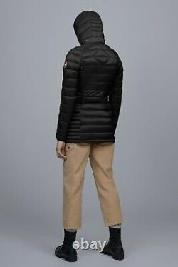 Brand NEW Canada Goose Brookvale Long Hooded Women's Jacket Coat Size Small NWT