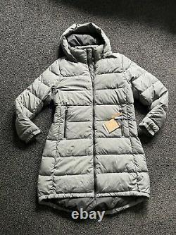 Brand New The North Face Metropolis III Heather Grey Padded Parka Large Uk14-16
