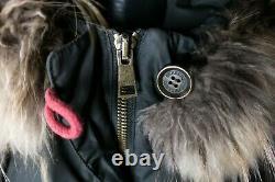 Burberry Puffer Geen Coat Jacket Down Fur Nova Check