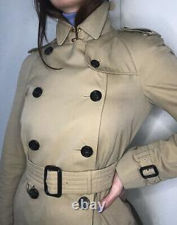 Burberry Women's Westminster Trench Coat Size 6