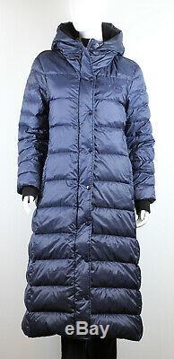 Burberry Womens Kington Shearling Down Hooded Puffer Long Coat Size M
