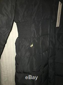 COLE HAAN 3/4 LONG COAT PUFFER DOWN/FEATHER FILL sz XS /TP NEW