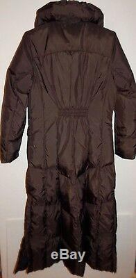 COLE HAAN WOMEN'S MAXI LONG COAT PUFFER DOWN/FEATHER FILL sz S NEW AUTHENTIC