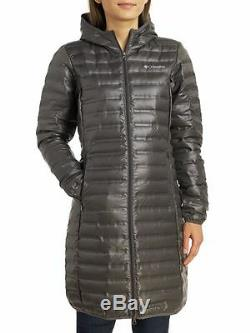 COLUMBIA Flash Forward Long Womens M Down Puffer Parka/Jacket/Coat NEW $160
