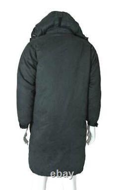 Cabelas Men's M Long Goose-down Parka Coat with Real Coyote Fur Hood