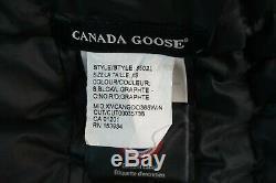 Canada Goose Brookvale Long Hooded Lightweight Jacket Coat Black Size XS