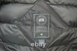 Canada Goose Brookvale Long Hooded Women's Jacket Coat Black Label Size Large