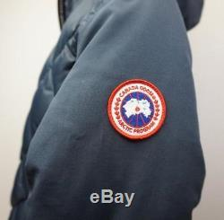 Canada Goose Cabot Blue Quilted Down Women's Long Coat Size Small