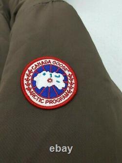 Canada Goose Womens Coyote Fur Trim Down Jacket Coat Parka Brown Size 2XL XXL