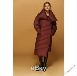 Celebrity Winter Womens Quilted Long Duck Down Coat Puffer Padded Outwear Parka