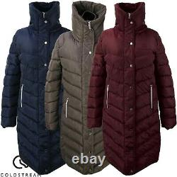 Coldstream Kimmerston Long Quilted Riding Coat Breathable and Water Repellent