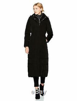 Cole Haan Women's Taffeta Quilted Long Down Coat Choose SZ/Color