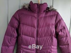 Columbia Omni Heat Polar Freeze Womens Medium 650 Down Puffer Coat Jacket Long