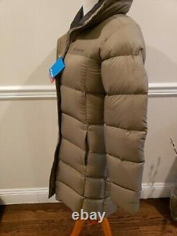 Columbia Woodlyn Meadows Long Down Omni Heat Jacket Coat Parka $280, XS, Nwt